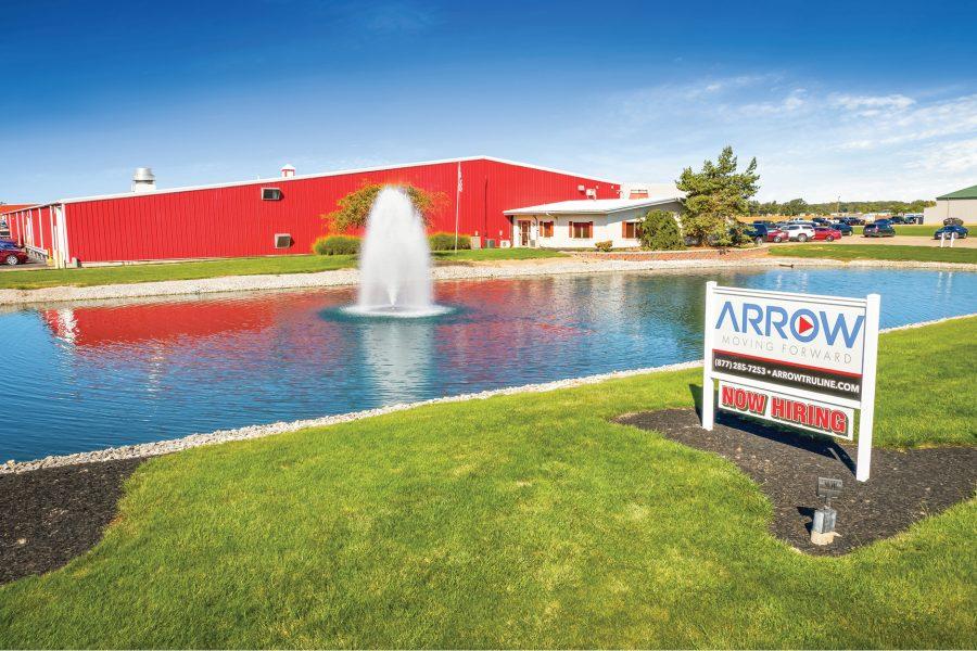 arrow tru-line sale leaseback stream capital partners
