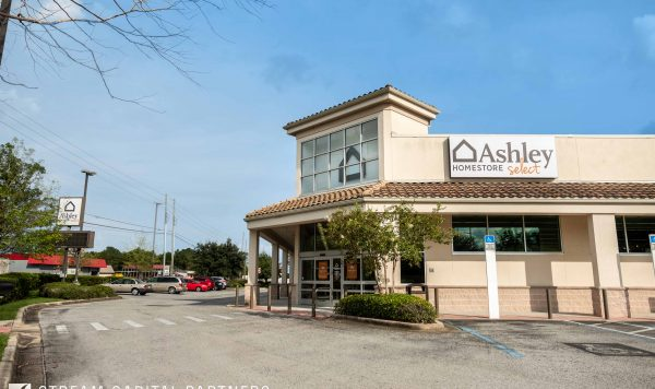 ashley homestore STREAM Capital Partners