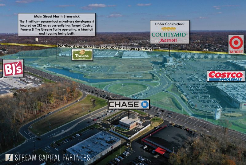 Chase Bank North Brunswick STREAM Capital Partners