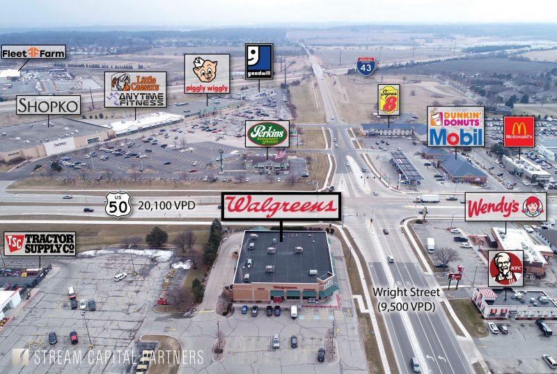 Walgreens Delavan STREAM Capital Partners