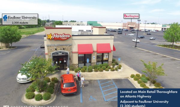 hardees montgomery al stream capital partners