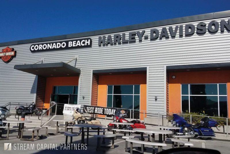 harley davidson coronado stream capital partners