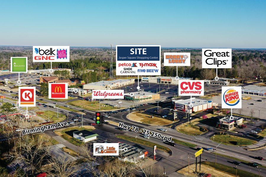 jasper square shopping center stream capital partners
