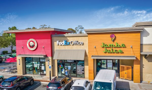 Multi-Tenant Retail Building