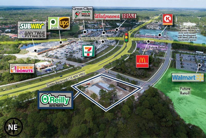 O'Reilly Retail Aerial STREAM Capital Partners