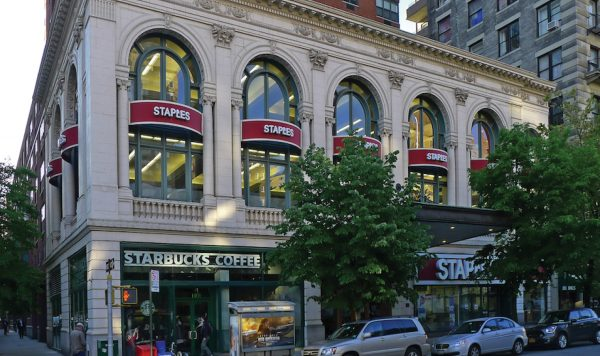 Staples & Starbucks
